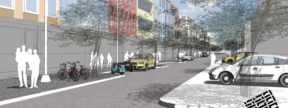 Digitaler Siedlungs- und Gebäudeentwurf